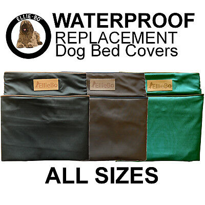 Ellie-Bo Waterproof Replacement Dog Cage Bed Cover in Green, Black or Brown
