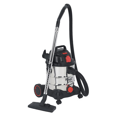 Sealey PC200SDAUTO Industrial Vacuum Cleaner 20ltr 1400W/240V