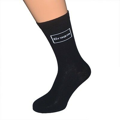 High Quality Black Woven Wedding Socks in Multiple Titles Roles X601-X629