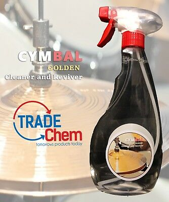 CYMBAL GOLDEN Cleaner and Reviver 500ml  - Supreme Cleaning Action