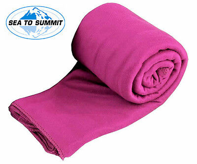 Sea to Summit Lightweight & Fast Dry POCKET TOWEL (Berry) Sizes Small to XLarge