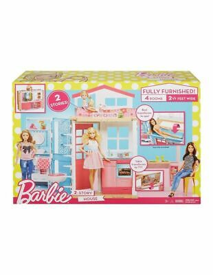 NEW Barbie 2-Story House Playset