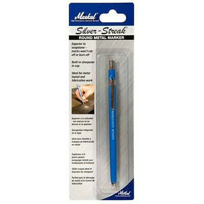 Markal HP Silver Industrial Pen for Steel and most Metals (96107)