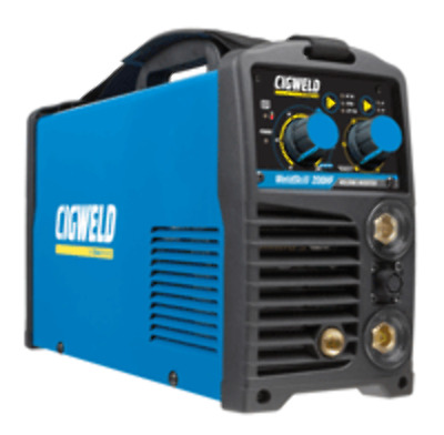 Cigweld Weldskill High Frequency 200amp DC TIG-MMA Inverter With TIG Torch (W100