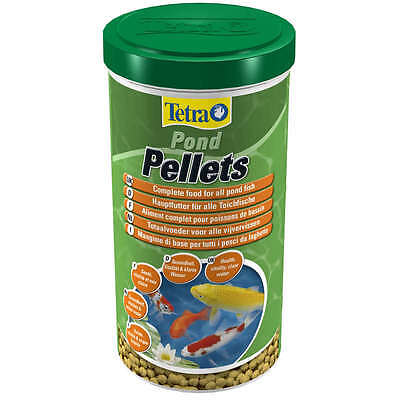 TETRA POND MEDIUM PELLETS FISH FOOD 240g/1 Litre  4004218151994