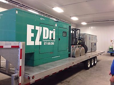 CDIM MS6000/5000 CFM Desiccant Dehumidifier Trailer w/Cummings 150kW