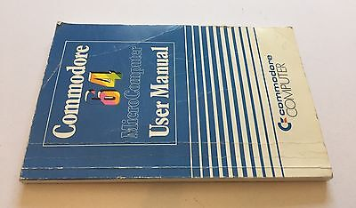 Commodore 64 Computer User Manual C64 Instruction Paperback Book