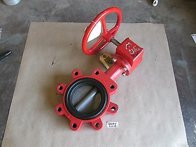 "+New Bray 4"" Handwheel Operated Butterfly Valve Item# 0.40"