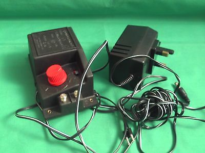 HORNBY R.965 CONTROLLER AND WALL ADAPTER IN iV.G.C.AND WORKING ORDER