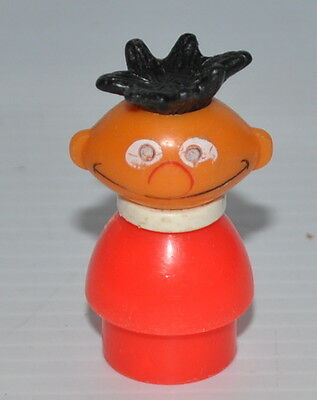 ERNIE Sesame Street FPLP Fisher Price Figure 1970s