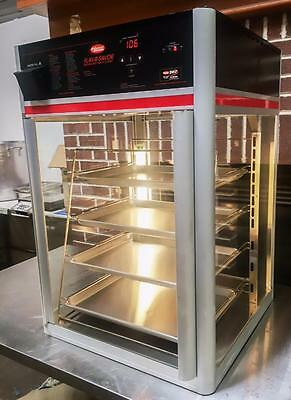 Hatco Fsdt-1X Restaurant Hot Food Glass Display Case Four Pan Metal Rack