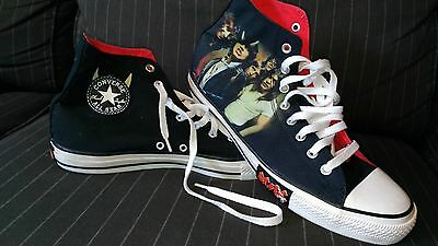 Converse Chuck Taylor AC/DC Highway To Hell Mens Size 12 Hi Top Shoes 2009
