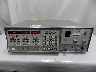 Hp Agilent 8350B Sweep Oscillator W/ 86290C Rf Plug In & Calibrated Sticker