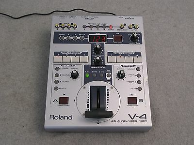 Actual Roland V-4 Four Channel Video Mixer/ Switcher with Effects, Edirol V4