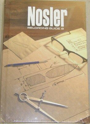 Newest 8th Edition Nosler Reloading Guide Manual Handbook