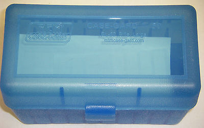 MTM Case Gard™ New MTM Plastic Ammo Box 50 Rd RL-50-24 Rifle 30-06 280 410 Blue