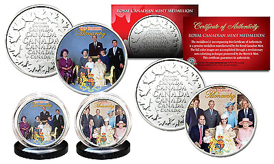 BRITISH MONARCHY Princess Diana THEN & NOW Royal Canadian Mint RCM 2-Coin Set