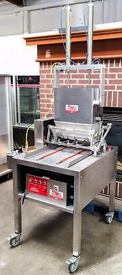 Rhodes Kook-E-King Automatic Wire Cookie Depositor Cutter Pressure Feed Hopper