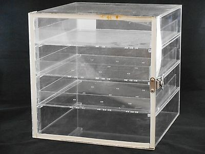 Lab Acrylic Desiccator Cabinet Dry Box w/ 3 Removable Shelves 12 x 12 x 12""