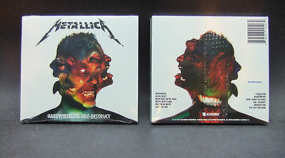 Metallica: Hardwired To Self-Destruct CD Set 2016 Blackend Rec USA NEW SEALED
