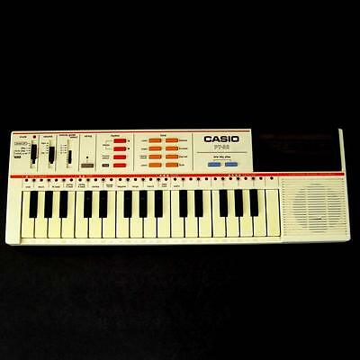 Vintage Casio PT-82 Keyboard Casiotone Electronic Synth with ROM & Manual Works