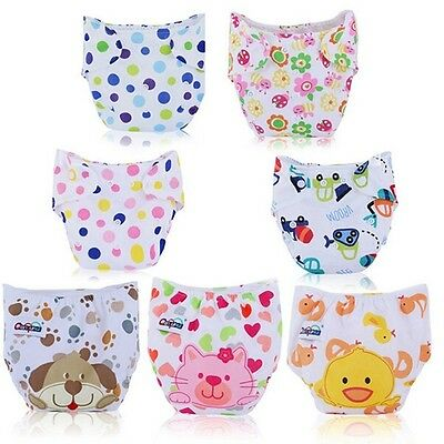 Infant Cover Washable Cloth Diapers Reusable Baby Nappy Adjustable