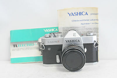 Yashica TL Electro X with 50mm f1.7 M-42 Lens SLR Film Camera