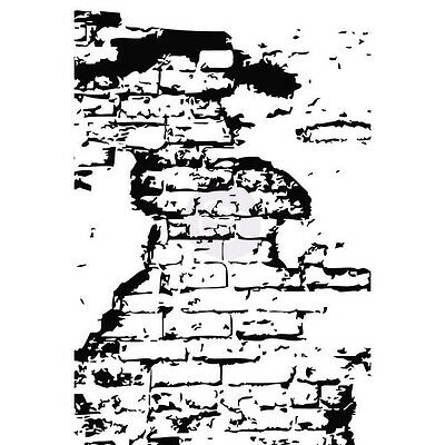 """Prima *Loft Wall* Cling Mounted Rubber Stamp - 4"""" x 6"""""""