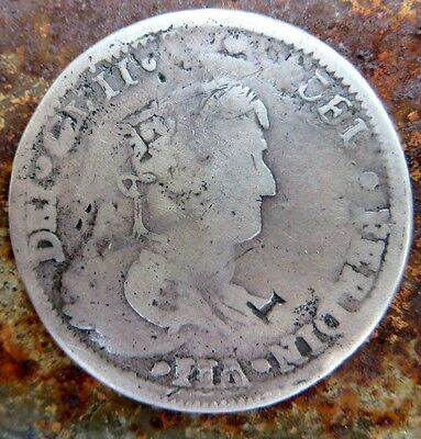 1820 MEXICO WAR OF INDEPENDENCE Ca RP KM 111.1 ON EARLIER CAST 8 COUNTERSTAMP