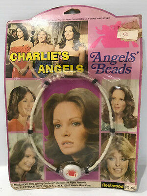 "Fleetwood 1977 Charlie's Angel's ""Angels' Beads"" Necklace MOC"