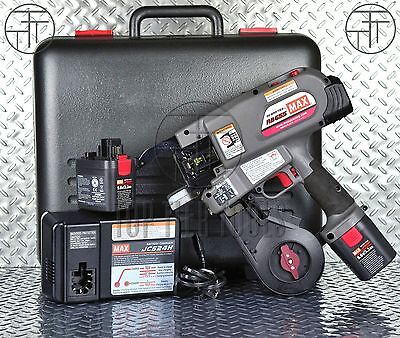 Brand New MAX USA RB655 Cordless Battery-Operated Rebar Tier Tying Machine
