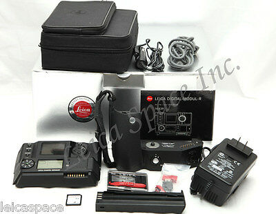 *Mint* Leica black DMR digital back Boxed