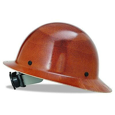 MSA 475407 Natural Tan Skullgard Hard Hat with Fas-Trac Suspension Standard