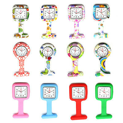 Silicone Nurse Watch Brooch Tunic Fob Watch With Free Battery Doctor  Sweet