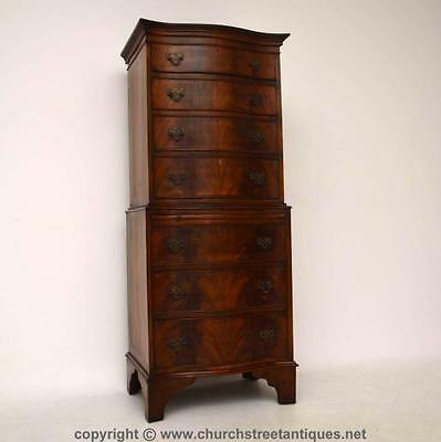 Antique Mahogany Chest On Chest
