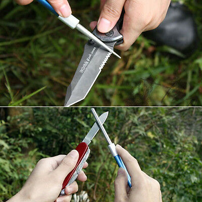 Pocket Blade Sharpener Pen Diamond Grit Pen-file Hunting Fishing Saw Hook Tools