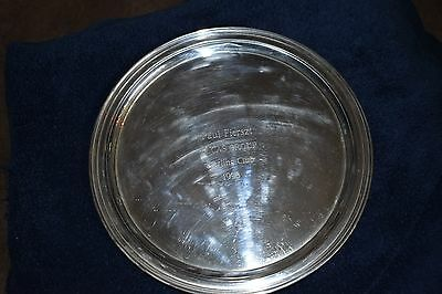 """12"""" Tiffany & Co Sterling Silver Serving Tray Plate"""
