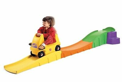 Step 2 Up And Down Roller Coaster Ride Rollercoaster Car Toy Fun Family Picnics