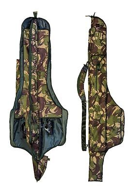 3 Made Up Rod Dpm 12Ft Padded Holdall Sleeve Bag Carp Pike Fishing Tackle Sl35
