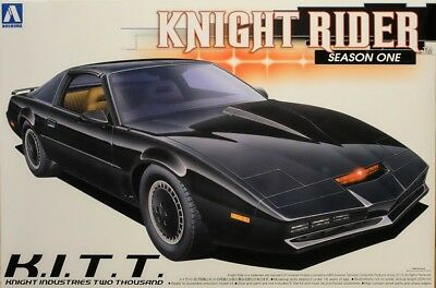 Pontiac Transam Knight Rider Season 1 K.I.T.T. 1:24 Model Kit KITT Aoshima 41277
