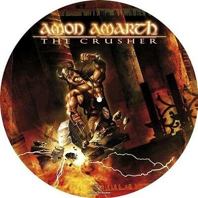 "AMON AMARTH The Crusher 12"" LP Vinyl Pic Disc NEW 2017"