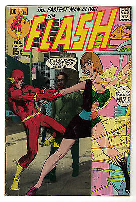 DC Comics THE FLASH Issue 203 The Fastest Man Alive! FN-