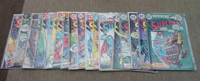 DC Comics SUPERMAN RUN BUNDLE VG/FN 18 issue 191-283