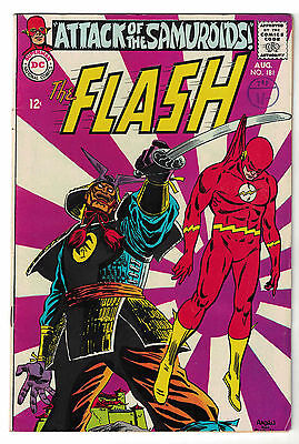 DC Comics THE FLASH Issue 181 Attack Of The Samuroids FN-