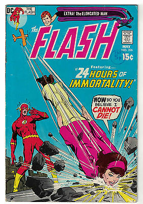 DC Comics THE FLASH The Fastest Man Alive Issue 206 24 Hours Of Morality! FN