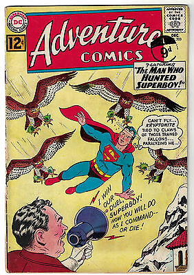 DC Comics ADVENTURE COMICS Superboy Issue 303 The Man Who Hunted Superboy VG-