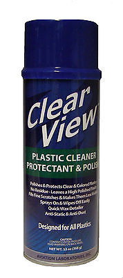 PM.009 Clear View / Plastic Cleaner Spray 368 g