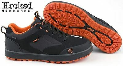 Fox Chunk Black and Orange trainers