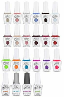 Harmony Gelish Soak-Off Gel - Pick Color/Top/Base/Bond/Oil 0.5oz/15mL - Series 2