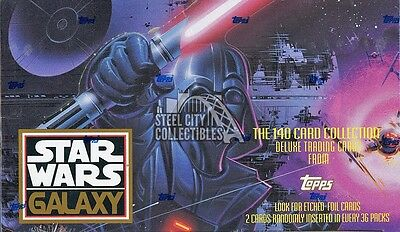 1993 Topps Star Wars Galaxy Series 1 Hobby Box